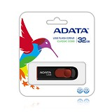 ADATA Classic 32GB [C008] - Black (Merchant) - Usb Flash Disk Basic 2.0